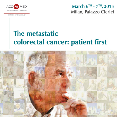 The metastatic colorectal cancer: patient first