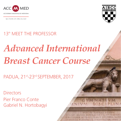 13th Meet the Professor - Advanced International Breast Cancer Course