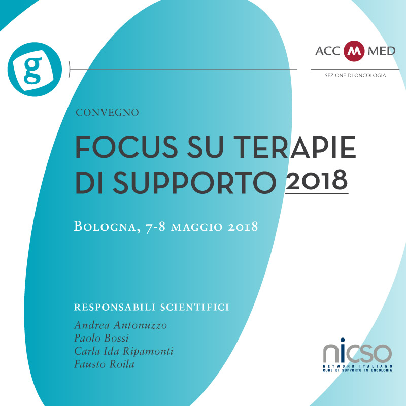Grandangolo in Oncologia. Focus su terapie di supporto 2018