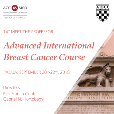 14th Meet the Professor. Advanced International Breast Cancer Course