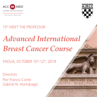 15th Meet the Professor. Advanced International Breast Cancer Course (AIBCC)