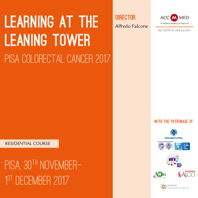 LEARNING at the LEANING tower. Pisa Colorectal Cancer 2017